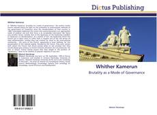 Bookcover of Whither Kamerun