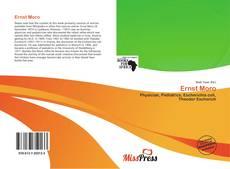 Buchcover von Ernst Moro