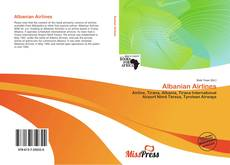Bookcover of Albanian Airlines