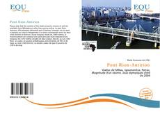 Bookcover of Pont Rion-Antirion