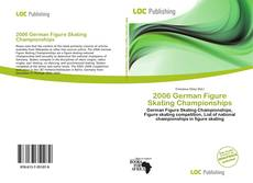 Capa do livro de 2006 German Figure Skating Championships