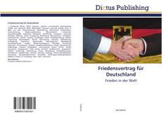 Capa do livro de Friedensvertrag für Deutschland