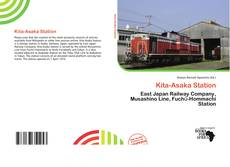 Kita-Asaka Station kitap kapağı