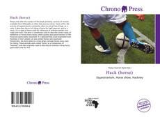 Hack (horse) kitap kapağı