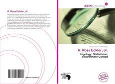 A. Ross Eckler, Jr.的封面