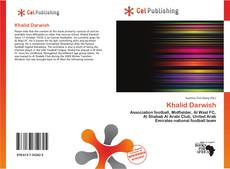 Bookcover of Khalid Darwish