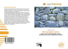 Bookcover of Micrographic texture