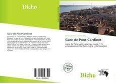 Gare de Pont-Cardinet kitap kapağı