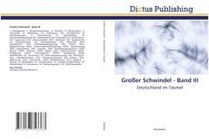 Großer Schwindel - Band III kitap kapağı