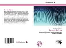 Bookcover of Fawzia Fahim