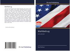 Bookcover of Wahlbetrug