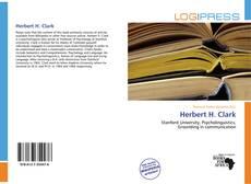 Обложка Herbert H. Clark