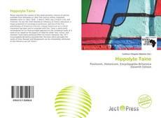 Hippolyte Taine kitap kapağı