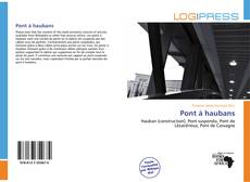Обложка Pont à haubans