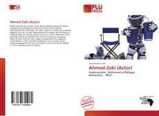 Bookcover of Ahmad Zaki (Actor)