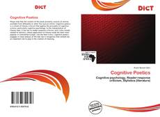 Bookcover of Cognitive Poetics
