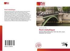 Pont métallique kitap kapağı
