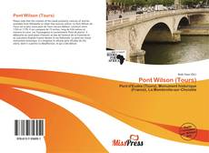 Bookcover of Pont Wilson (Tours)