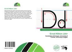 Обложка Ernst Håkon Jahr