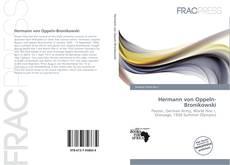 Hermann von Oppeln-Bronikowski kitap kapağı