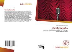 Couverture de Carole Samaha