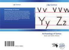 Buchcover von Archaeology of Samoa