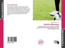 Portada del libro de Andrés Malango