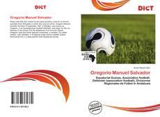 Capa do livro de Gregorio Manuel Salvador