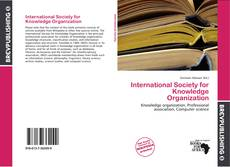International Society for Knowledge Organization kitap kapağı