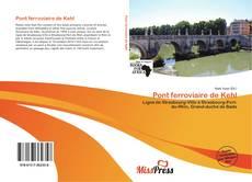 Portada del libro de Pont ferroviaire de Kehl