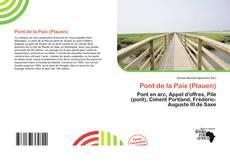 Portada del libro de Pont de la Paix (Plauen)