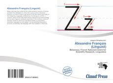 Alexandre François (Linguist) kitap kapağı