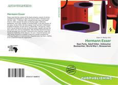 Bookcover of Hermann Esser