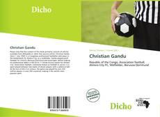 Capa do livro de Christian Gandu