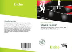 Portada del libro de Claudia Harrison