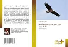 Buchcover von Ministère public de Jésus dans Jean (1-12)