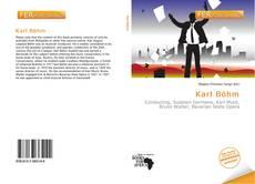 Buchcover von Karl Böhm