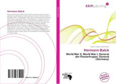 Bookcover of Hermann Balck