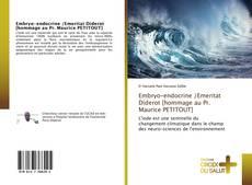 Portada del libro de Embryo-endocrine /Emeritat Diderot [hommage au Pr. Maurice PETITOUT]