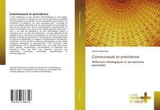 Bookcover of Communauté et présidence