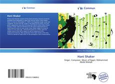 Bookcover of Hani Shaker