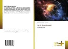 Bookcover of De la Sonorisation