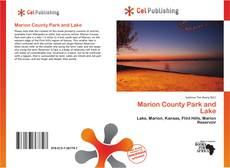 Bookcover of Marion County Park and Lake