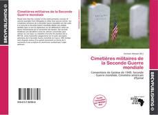 Portada del libro de Cimetières militaires de la Seconde Guerre mondiale
