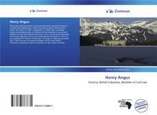Обложка Henry Angus