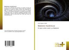 Portada del libro de Babylone mystérieuse