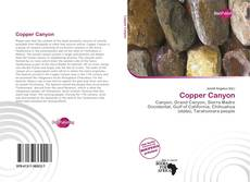Couverture de Copper Canyon