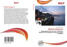 Melnik, Bulgaria kitap kapağı
