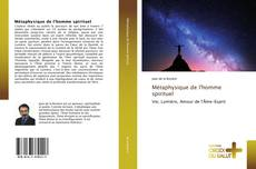 Capa do livro de Métaphysique de l'homme spirituel