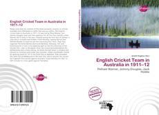Buchcover von English Cricket Team in Australia in 1911–12